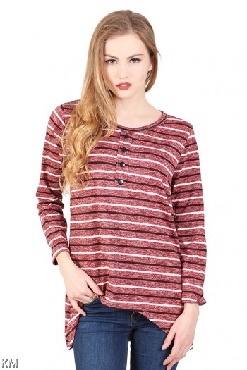 Multicolored Casual Top [M935]