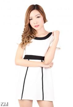 Bold Mini Dress [M454]