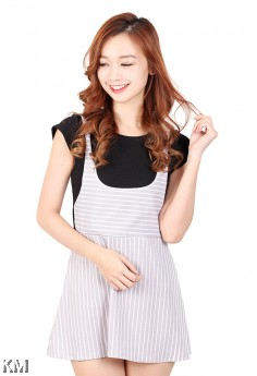 Shift Dress With Lining [M457]