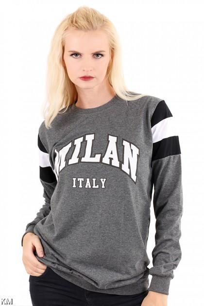Milan Printed T Shirt [M6180]