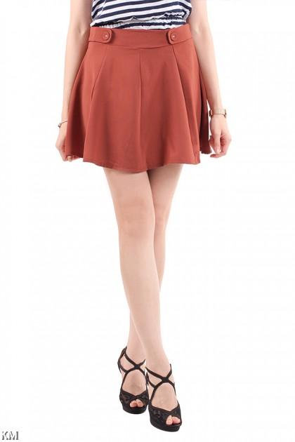 Flared Skater Skirt [M18217]