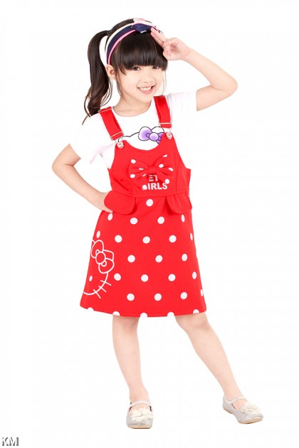 Kids Two-Pieces Set Dress [M18195]