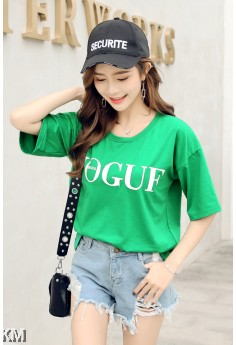 Casual Graphic Printed T Shirt [M12217]