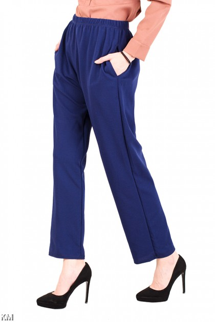 Straight Cut Plus Size Women Pants [M10911]