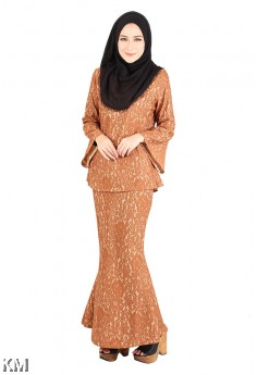 Zalia Tropical Lace Baju Kurung [M13014]