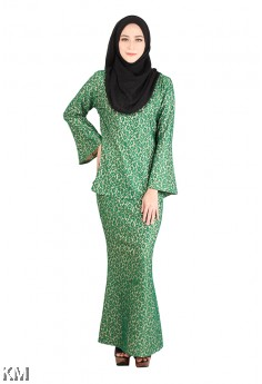 Rizal Tropical Lace Baju Kurung [M13015]