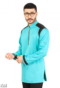 Men Yusof Kurta Zipper [M14480]