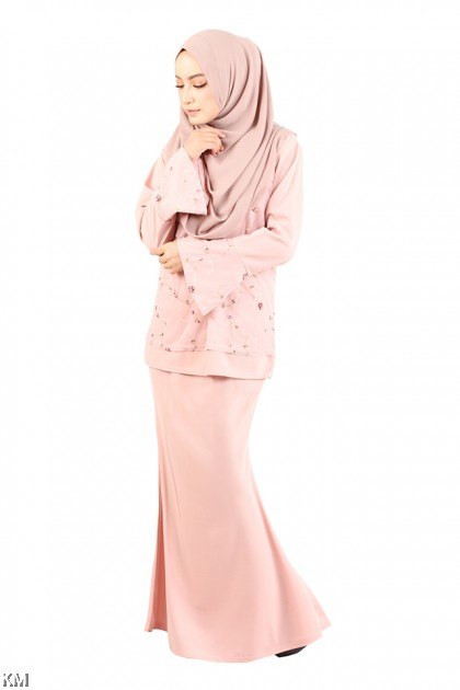 Cotton Lace Baju Kurung [M12292]