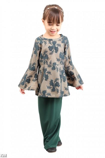 Kids Dorthy Lace Baju Kurung [M13021]