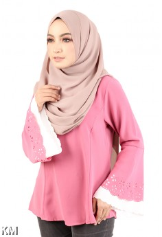 Layered Bell Sleeves Blouse [M12315]