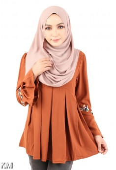 Classy Muslimah Flare Top [M12317]