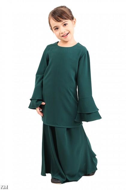 Adiva Kids Solid Baju Kurung [M12297]