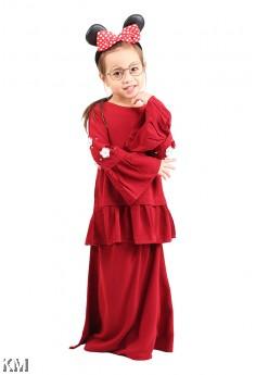 Bella Peplum Kids Baju Kurung [M12300]