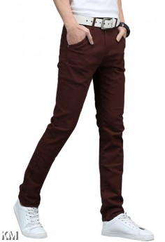 Men Cotton Elastic Chinos [M10914]