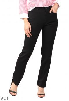 Women Black Slack Pants [M12339]