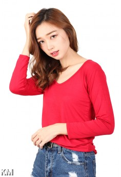 Long Sleeves Comfort Casual T Shirt [M12153]