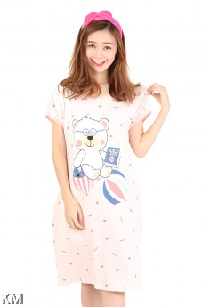 Cartoon Bear Sleep Dress [M1160]