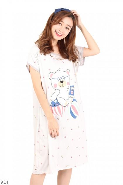Cartoon Bear Sleep Dress [M1160]