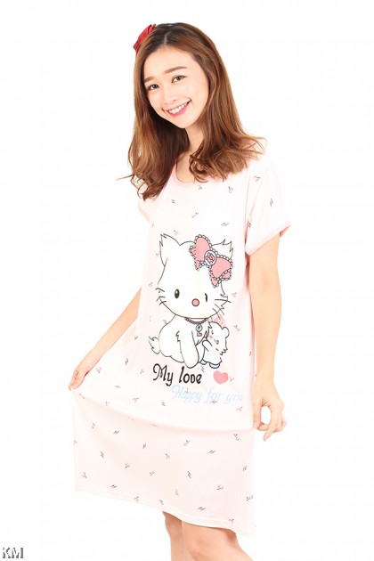 Kitty Sleep Dress [M1162]