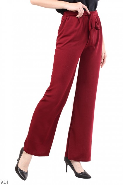 Ribbon Fastened Trouser [M14787]