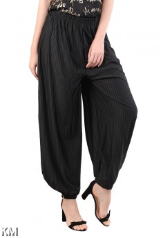 Striped Wide Pants [M23293]
