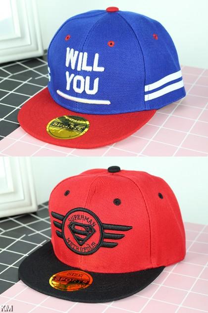 Kids Snapback Caps [M359A]