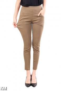 Plus Size Stretchable Pants [M12736]