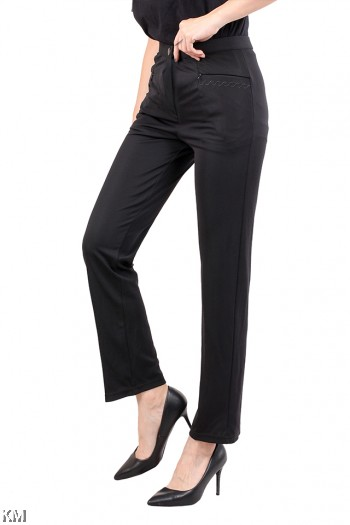Women Skinny Straight Cut Trouser [M12761]