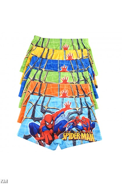 Spiderman Cartoon Underware 6pcs Per pack