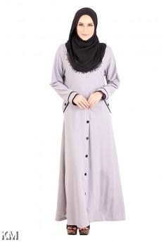Muslimah Side Pocket Jubah [M13017]