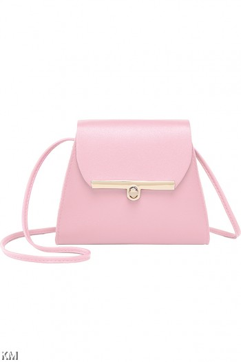 Korean Style Synthetic Sling Bag [M1926]