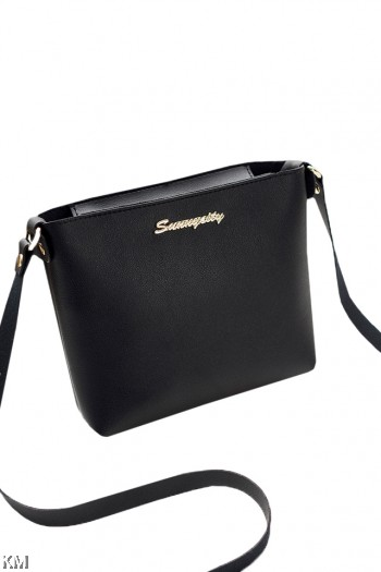 Korean Style Zippered Sling Bag [M1927]