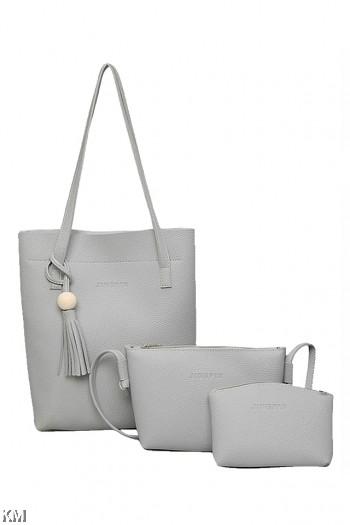 Set Of 3 Women Handbags [M275]