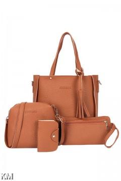 Sets of 4 New Trends Handbag [M271]