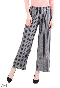 Striped Multicolored Casual Pants [M13559]