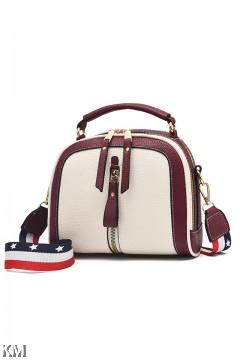 Zipper Detailed Women Luxury Hand Bag [M1604]
