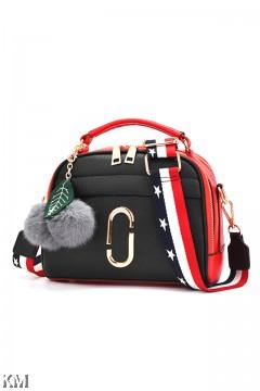 Casual Dual Tone Women Handbag [M1605]