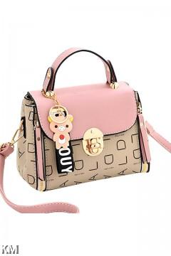 Rila Bear Women Fashion Handbag [M1911]