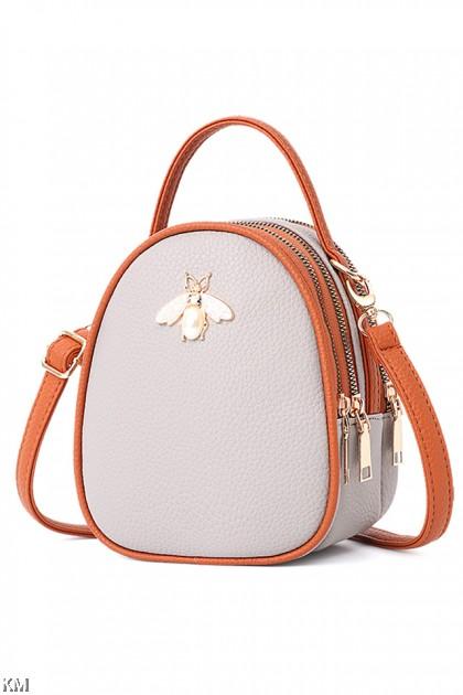 Honey Bee Top Handle Women Handbag [M1915]