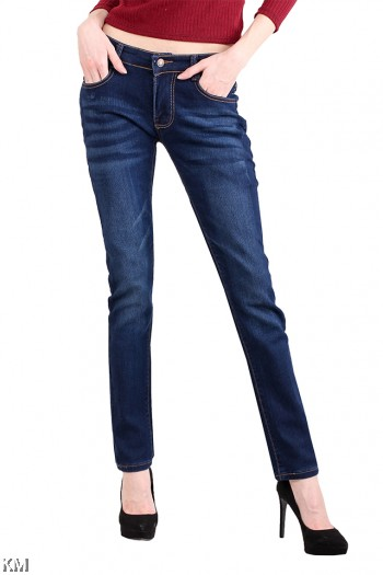 Women Blue Skinny Jeans [M13461]
