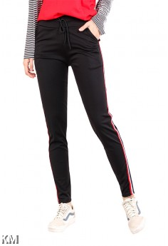 Women Sport Casual Elastic Pants [M13543]