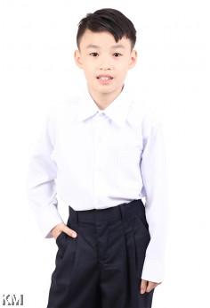 KM Primary School Long Sleeves Uniform Shirt [M21309]