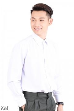 KM Secondary School Long Sleeves Uniform Shirt [M22876]