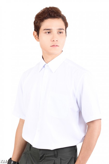 KM Secondary School Short Sleeves Uniform Shirt [M17317]