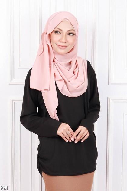 KM Muslimah Casual Fully Printed Top [B15795] [B19968]