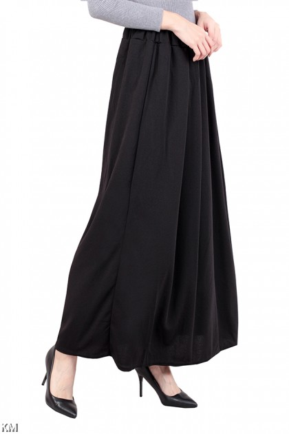 A Line Pleated Payung Maxi Skirt [M13950]