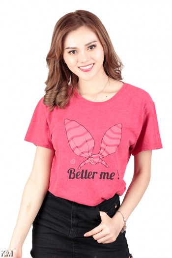 Size XL Women Graphic T Shirt [M622]