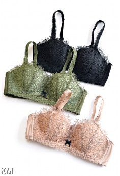 Dora Lace Push Up Bra [M1187]