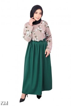 Nadia Roses Jubah Dress [J18502]
