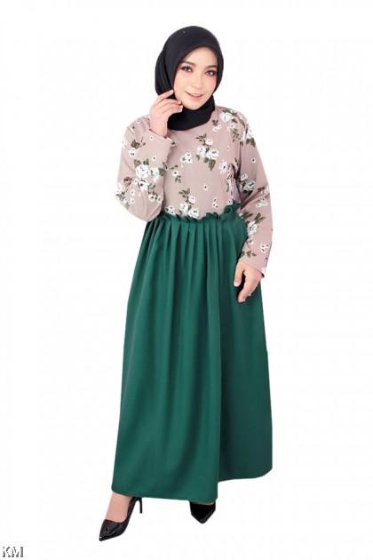 Nadia Roses Jubah Dress [J18502]